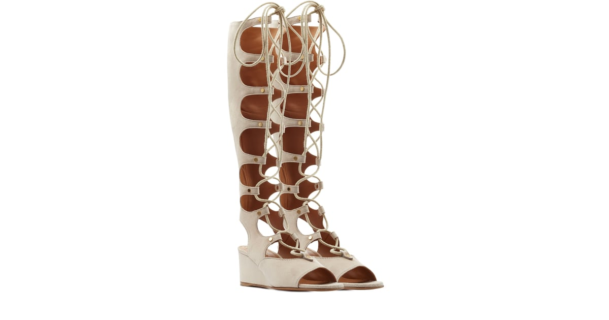 8324e49e0a2e Zara Is Stocked With the New Lace-Ups Every Blogger Is Wearing