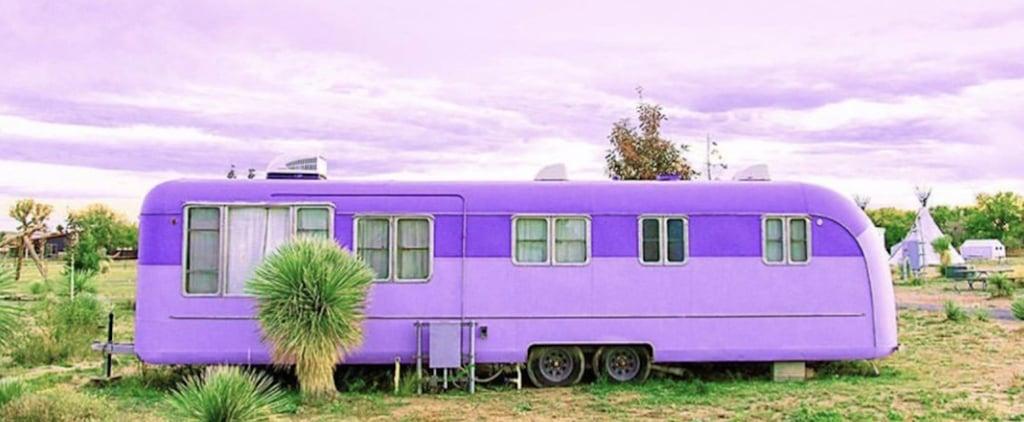 El Cosmico in Marfa, TX