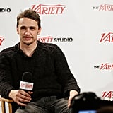 James Franco Wigs Out, Freestyles, and Dances the Night Away at Sundance