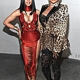 Cardi B and Pepa at the 2019 MTV VMAs