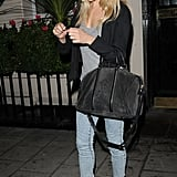 Sienna worked a casual-glam look in May 2011.