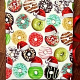 Donut Christmas Wrapping Paper