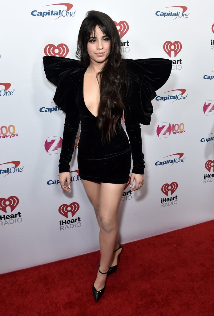 Camila Cabello Is a Gift in This Velvet Redemption Dress ...
