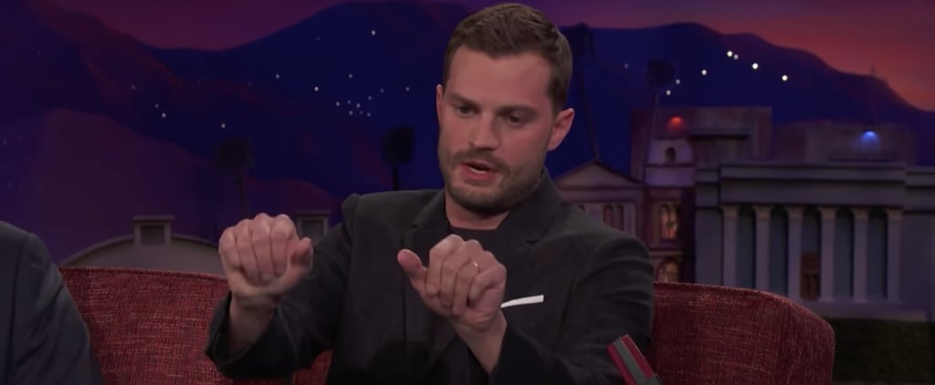 Jamie Dornan on Conan February 2018