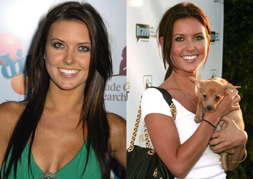 Do You Prefer Audrina's Hair Hue Warm or Cool?