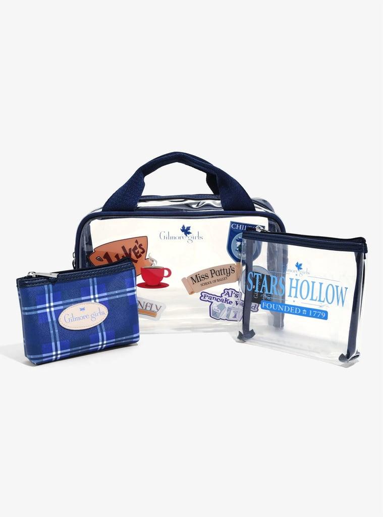 Gilmore Girls Stars Hollow Makeup Bag Set