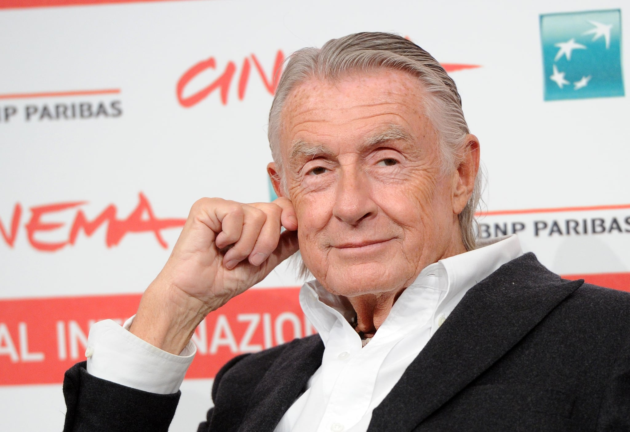 ROME, ITALY - NOVEMBER 03: Filmmaker Joel Schumacher poses at a photocall during the 6th International Rome Film Festival on November 3, 2011 in Rome, Italy. (Photo by MAURIX/Gamma-Rapho via Getty Images)