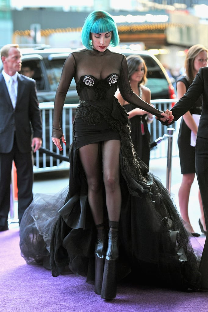 Lady Gaga in custom Mugler