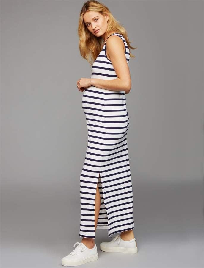 Pea Collection Pietro Brunelli Seychelles Maternity Maxi Dress