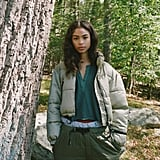 UO Shelly Cropped Puffer Jacket