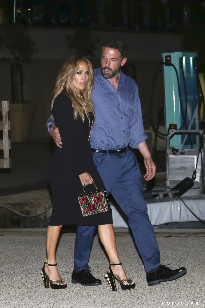 See Jennifer Lopez's LBD While Out With Ben Affleck