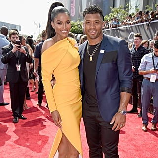Ciara and Russell Wilson at the 2018 ESPY Awards