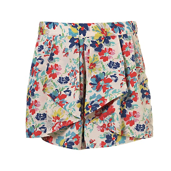 """Topshop Multi Pansy Waterfall Shorts, $70  Pair with: <iframe src=""""http://widget.shopstyle.com/widget?pid=uid5121-1693761-41&look=3445669&width=3&height=3&layouttype=0&border=0&footer=0"""" frameborder=""""0"""" height=""""244"""" scrolling=""""no"""" width=""""286""""></iframe>"""