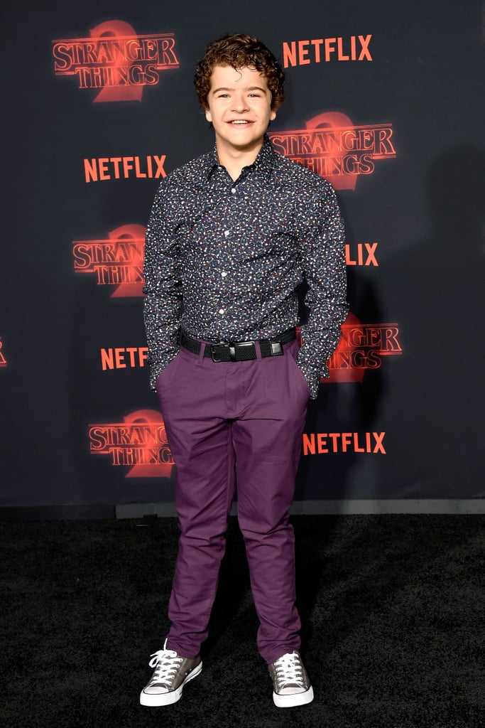 Gaten Matarazzo at Stranger Things Season 2 Premiere