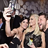 Pictured: Gwen Stefani, Selma Blair, and Derek Blasberg
