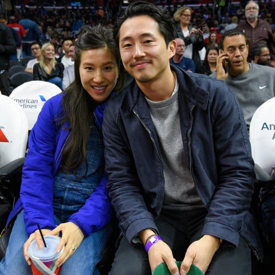Steven Yeun at LA Clippers Game November 2016