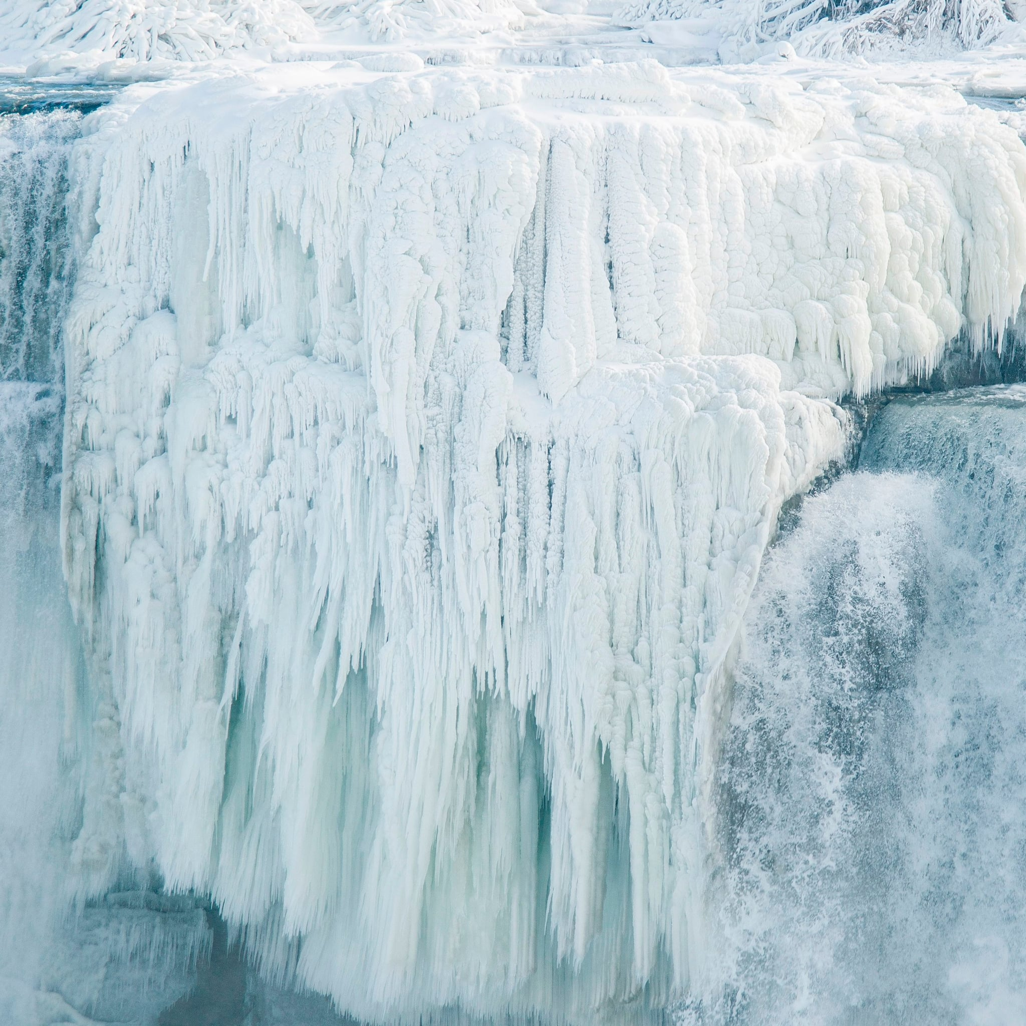 Niagara Falls Snow Photos: The Waterfalls Have