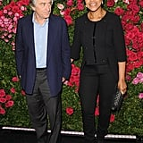 Robert De Niro and his wife, Grace Hightower, posed at the Chanel dinner party at the 2012 Tribeca Film Festival.