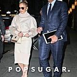 Jennifer Lopez and Alex Rodriguez in New York
