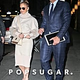 Jennifer Lopez and Alex Rodriguez in New York