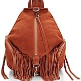 Rebecca Minkoff Medium Julian Backpack With Fringe ($345)