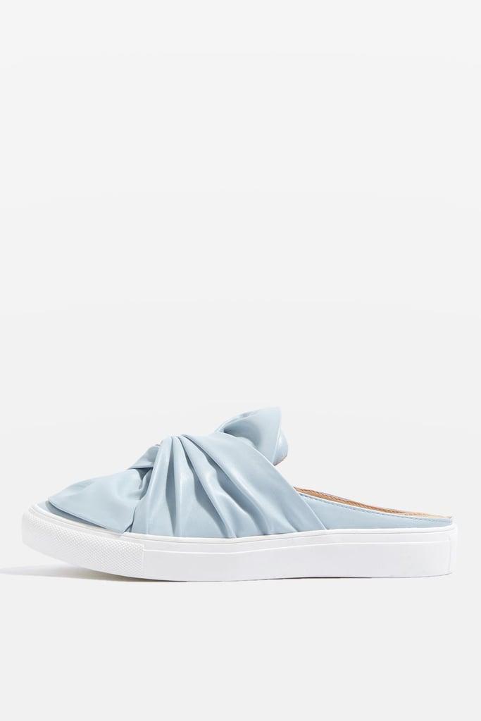 Topshop's Twist Mule Trainers ($35) double as pretty little sneakers.