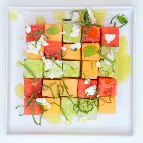 Melon Cucumber Salad With Zesty Lime Dressing