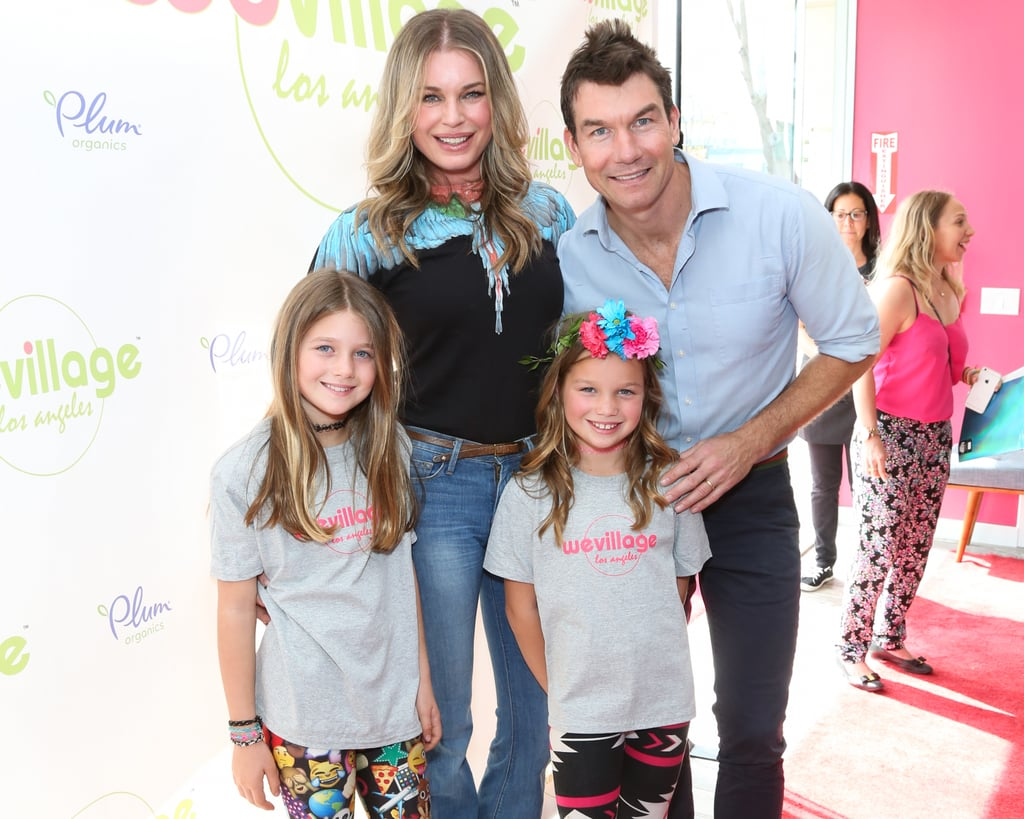 Rebecca Romijn and Jerry O'Connell Enjoy a Fun Family Day With Their Daughters
