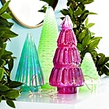 Pink Sugar Plum Glass Tree