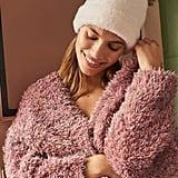 Urban Outfitters Fuzzy Pompom Beanie