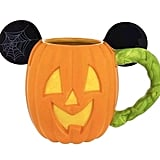 Disney Parks Mickey Mouse Pumpkin Halloween Ceramic Coffee Mug