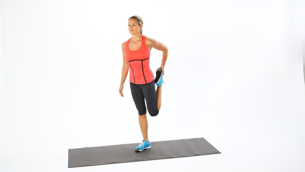 Warmup: Heel-to-Glute Stretch