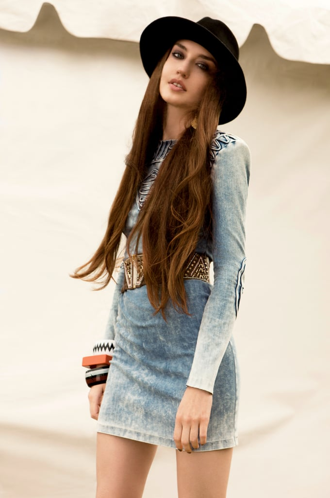 Lou Dillon and Elizabeth Jagger Model H&M's Fashion Against AIDS First Ever Festival Collection