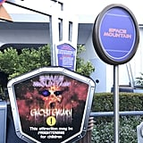 Space Mountain turns into a frightening experience called Ghost Galaxy.