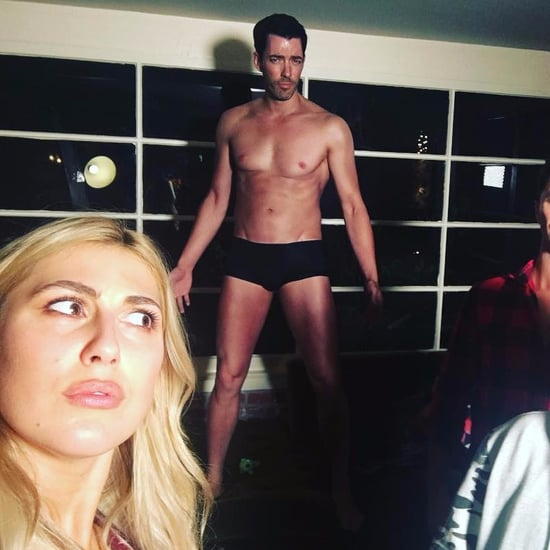 Drew Scott Posts Nearly Naked Picture