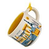 Epcot Starbucks You Are Here Mug Ornament ($13)