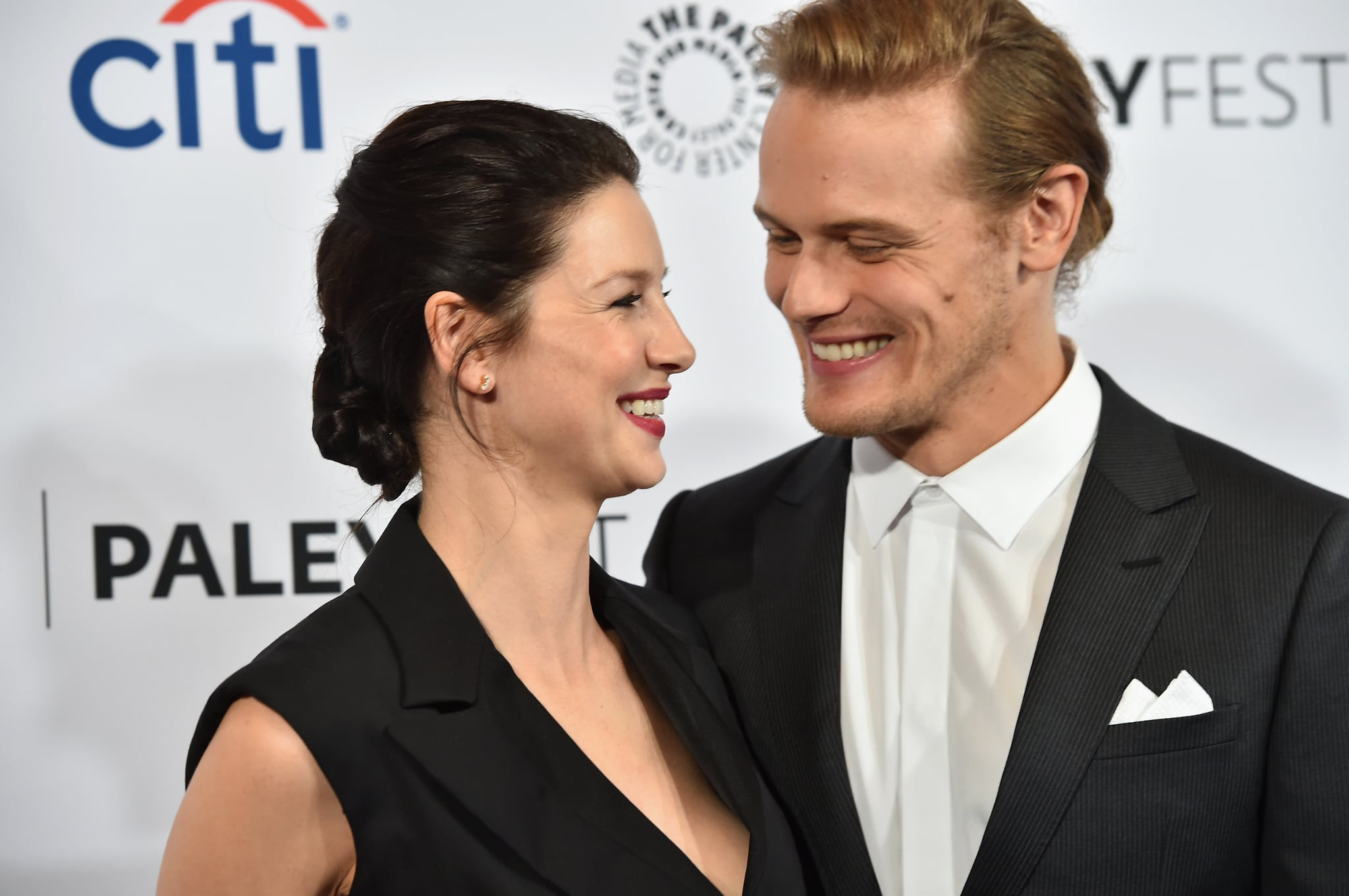 How Did Sam Heughan and Caitriona Balfe Meet? | POPSUGAR Celebrity