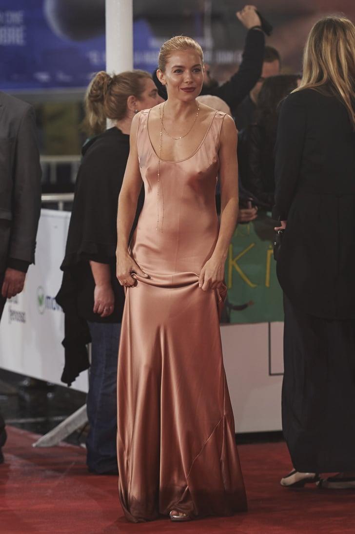 Sienna Miller Celebrities Going Braless Popsugar