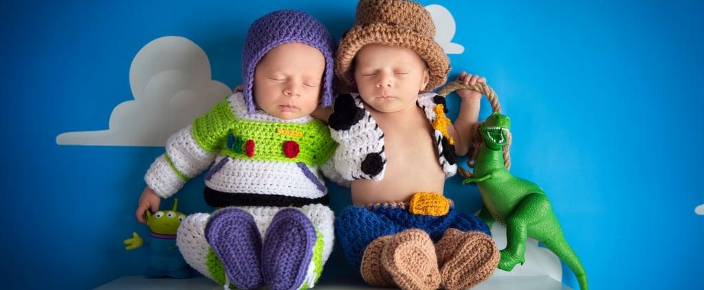 Toy Story Newborn Twins Photo Shoot