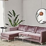 Chamberlin Velvet Sectional Sofa