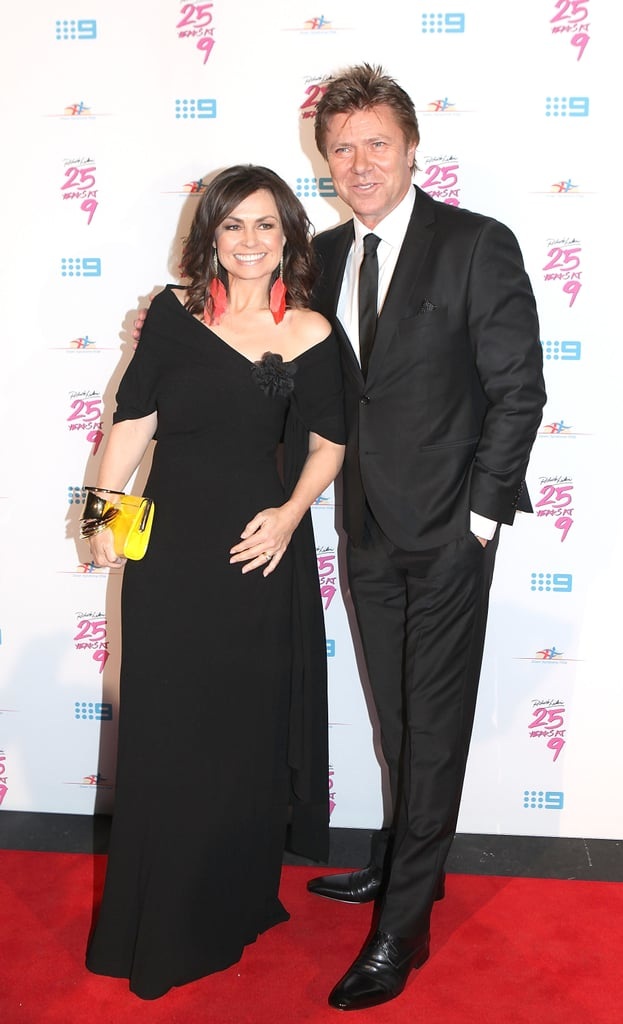Lisa Wilkinson and Richard Wilkins walked the red carpet for his fundraiser on June 16.