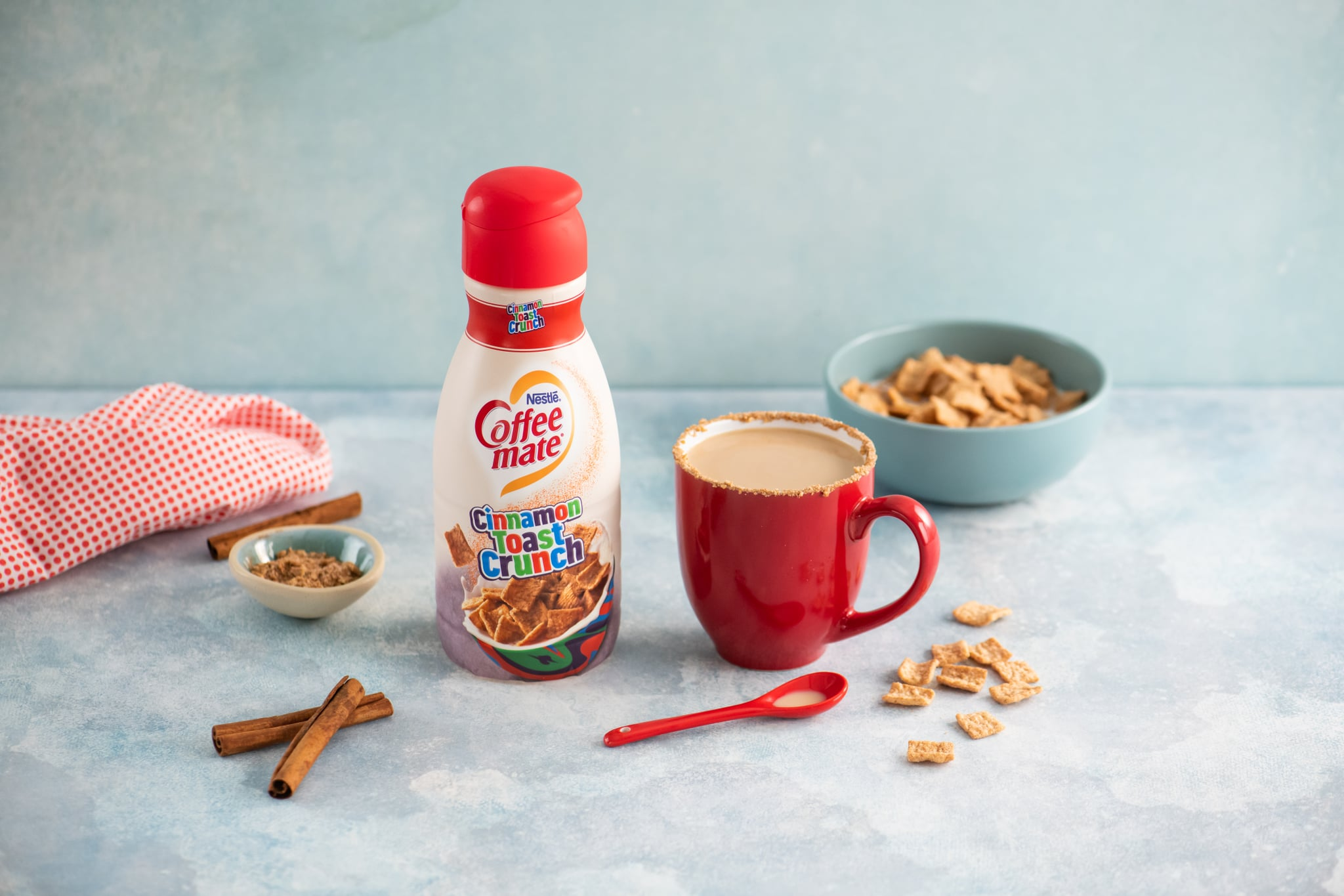 Coffee-Mate Is Launching Cinnamon Toast Crunch and Funfetti Creamers in the New Year!