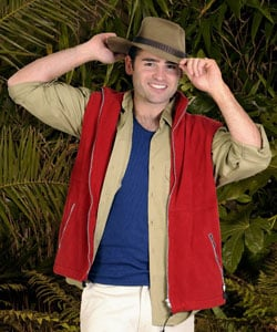 Photos of Stuart Manning Who Is the Sixth Contestant to Voted Off I'm a Celebrity Get Me Out Of Here