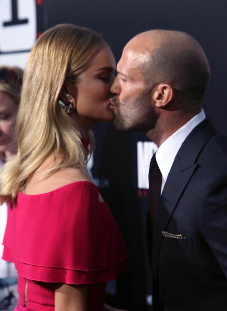 Rosie Huntington Whiteley Jason Statham Mechanic Premiere