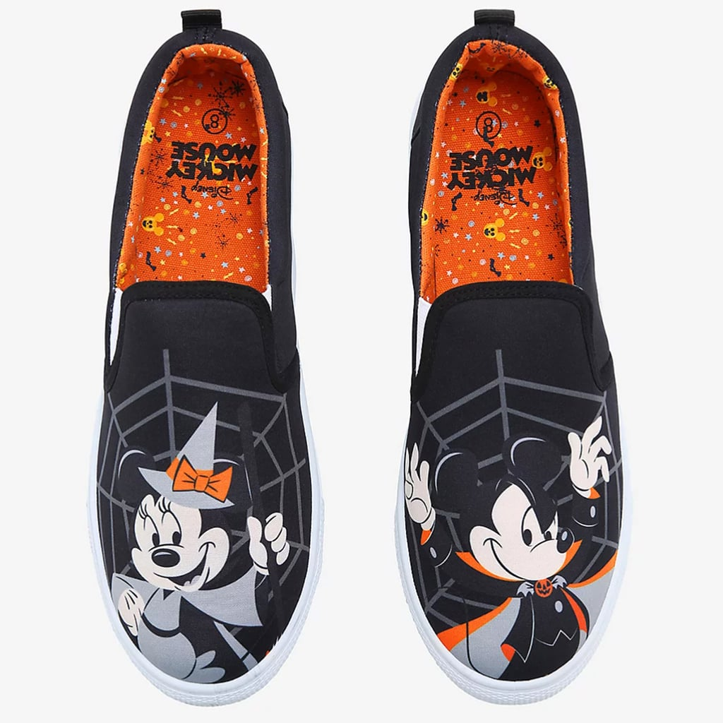 Shop Hot Topic's New Mickey, Minnie Disney Halloween Shoes