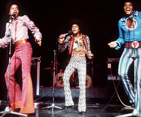 Michael Jackson was always a star; he and his brothers performed in London back in 1974.