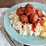 Slow-Cooker Hawaiian Meatballs
