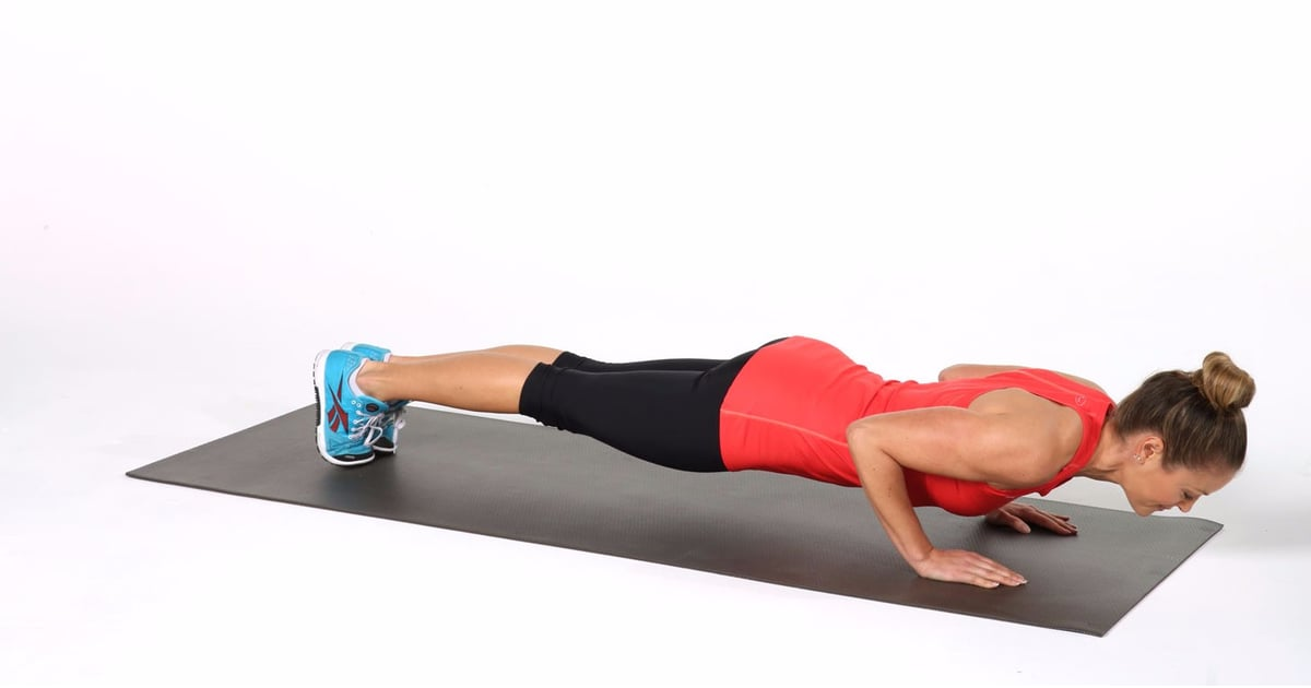 Get Strong and Toned Arms With This Fun Push-Up Variation