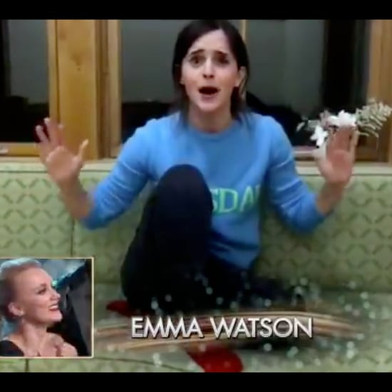 Emma Watson's Message to Evanna Lynch Dancing With the Stars