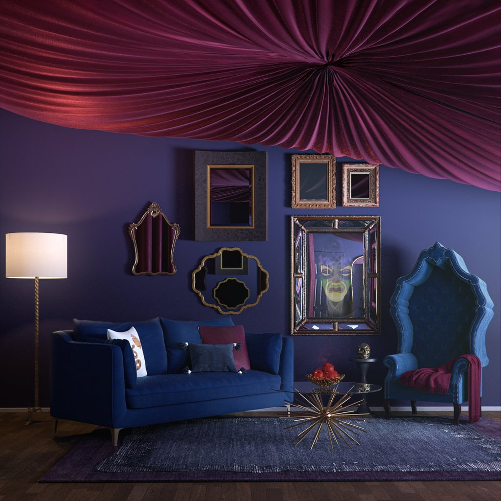 Evil Queen From Snow White and the Seven Dwarfs' Sitting Room